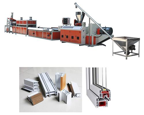 北京PVC塑钢门窗生产线