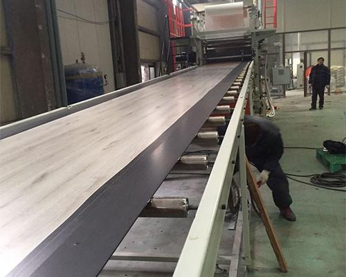 SPC地板生产线