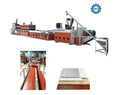 PVC扣板墙板生产线
